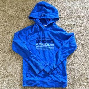 Under Armour boys hoodie EUC